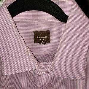 Santorelli long slee ve dress shirt